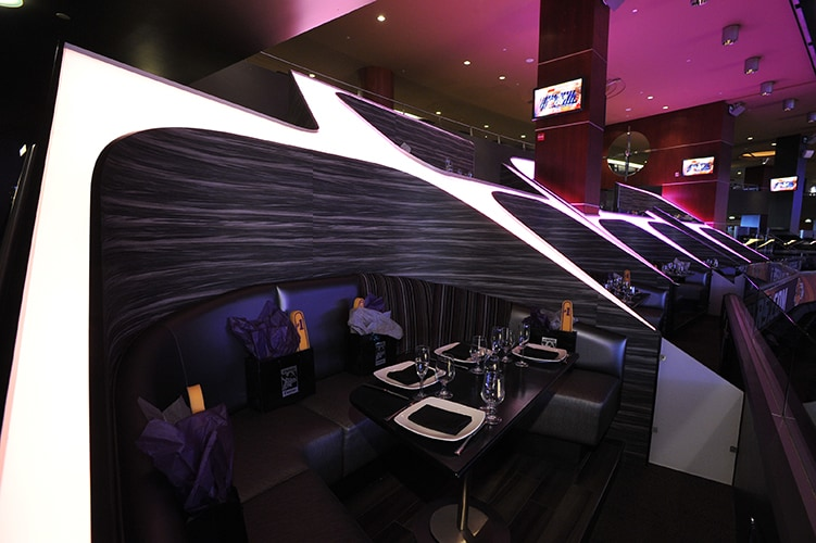 Premier Tables And Lounges At Staples Center Los Angeles