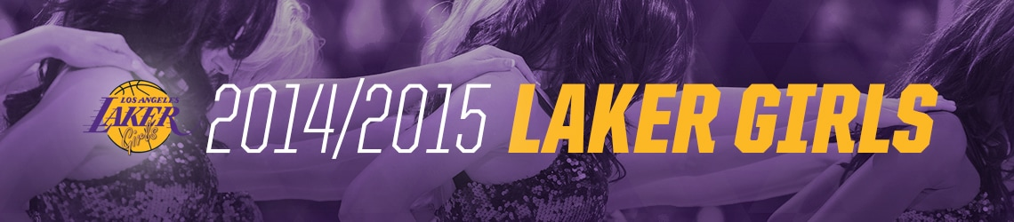 Laker Girls 2014-2015
