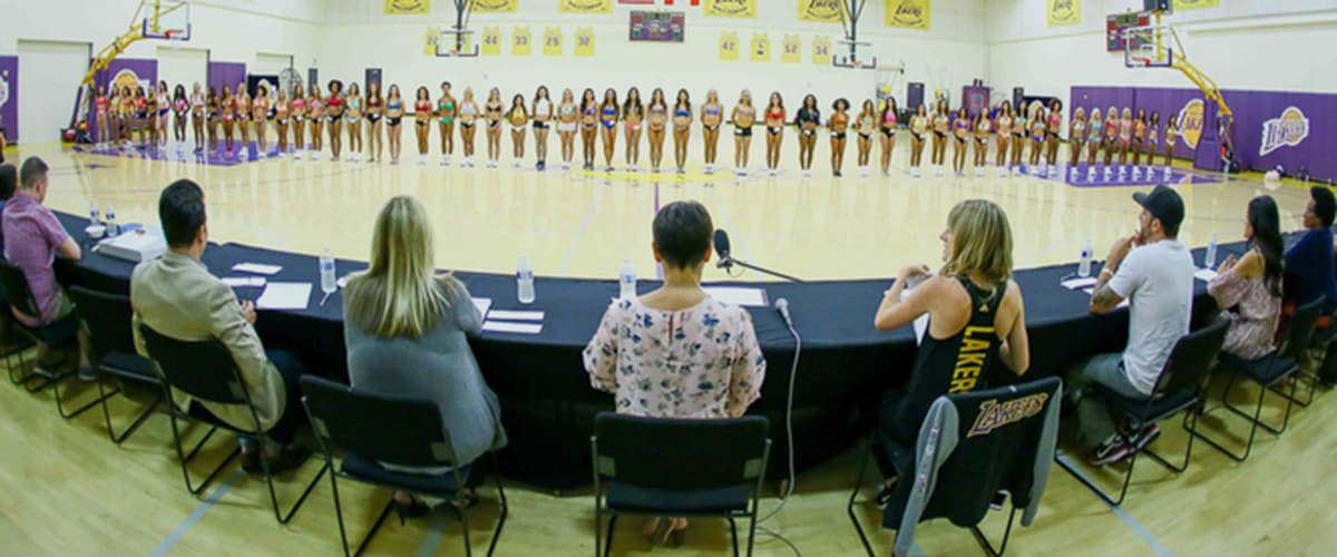 2017 Laker Girls Finalists Gallery