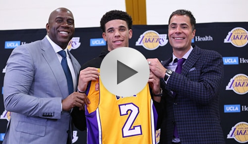 Lonzo Ball Introductory Press Conference