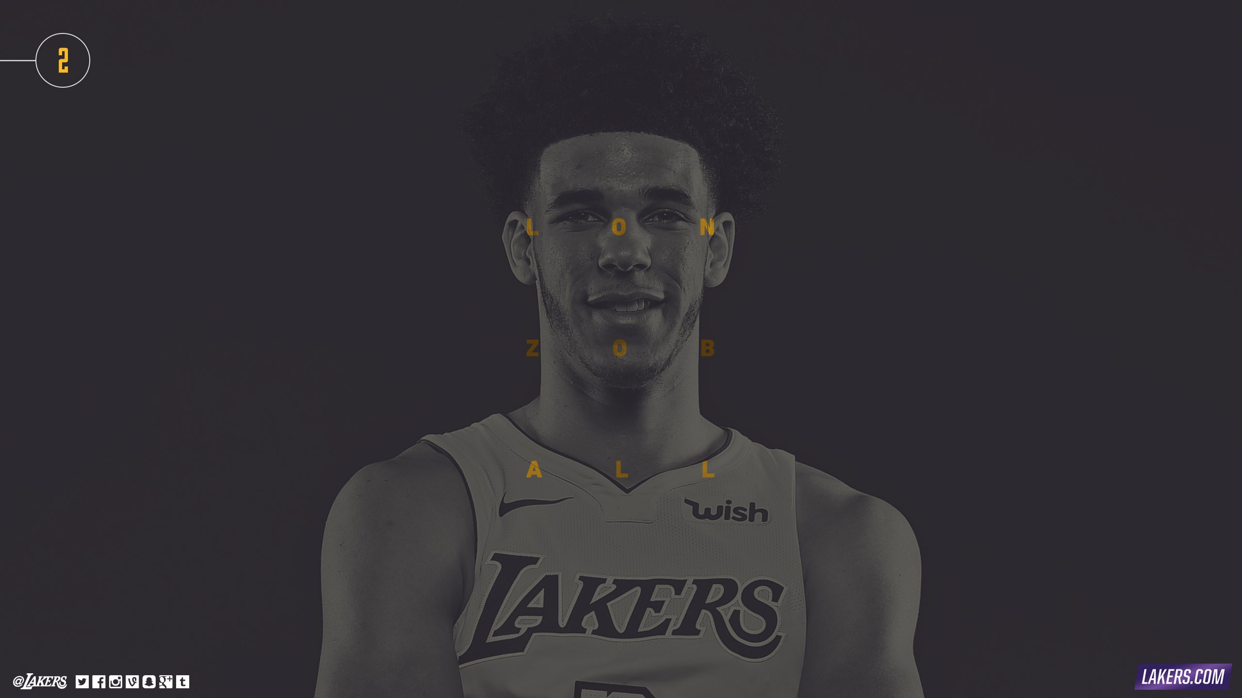 Lonzo Ball Player Wallpaper
