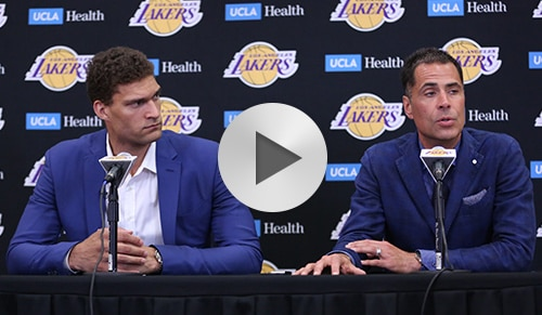 Brook Lopez Introductory Press Conference