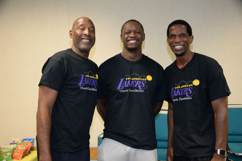 2014 Lakers Youth Foundation Court Refurbishment