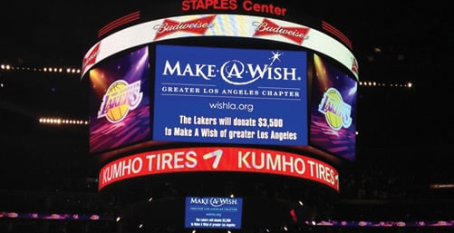 Wish Night with the Lakers: 2012