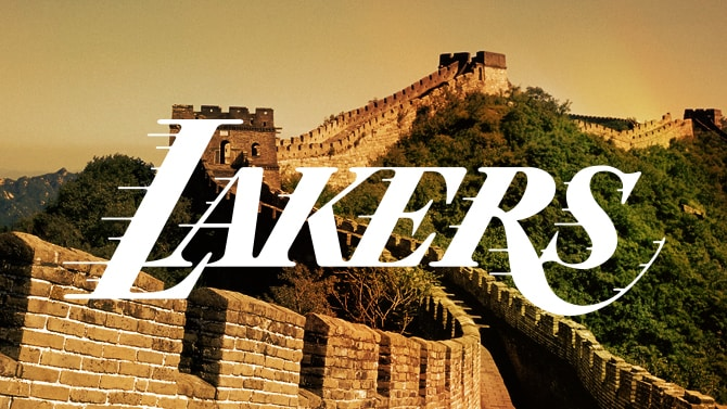 Lakers in China