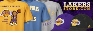 Lakersstore.com has the best selection of Lakers merchandise