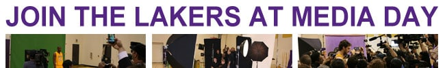 Enter for your chance to attend Lakers Media Day