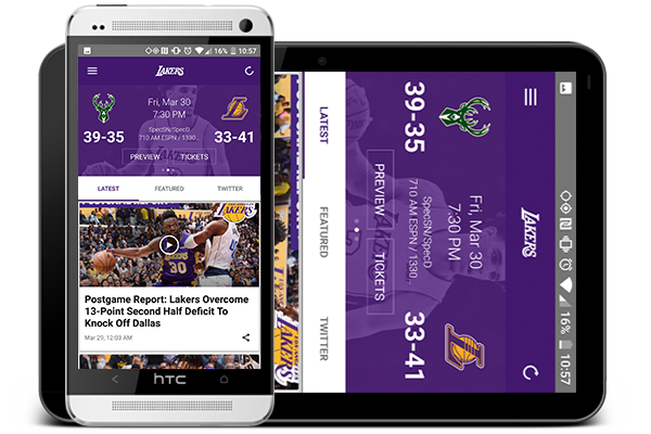 Download the Lakers Mobile App for Android