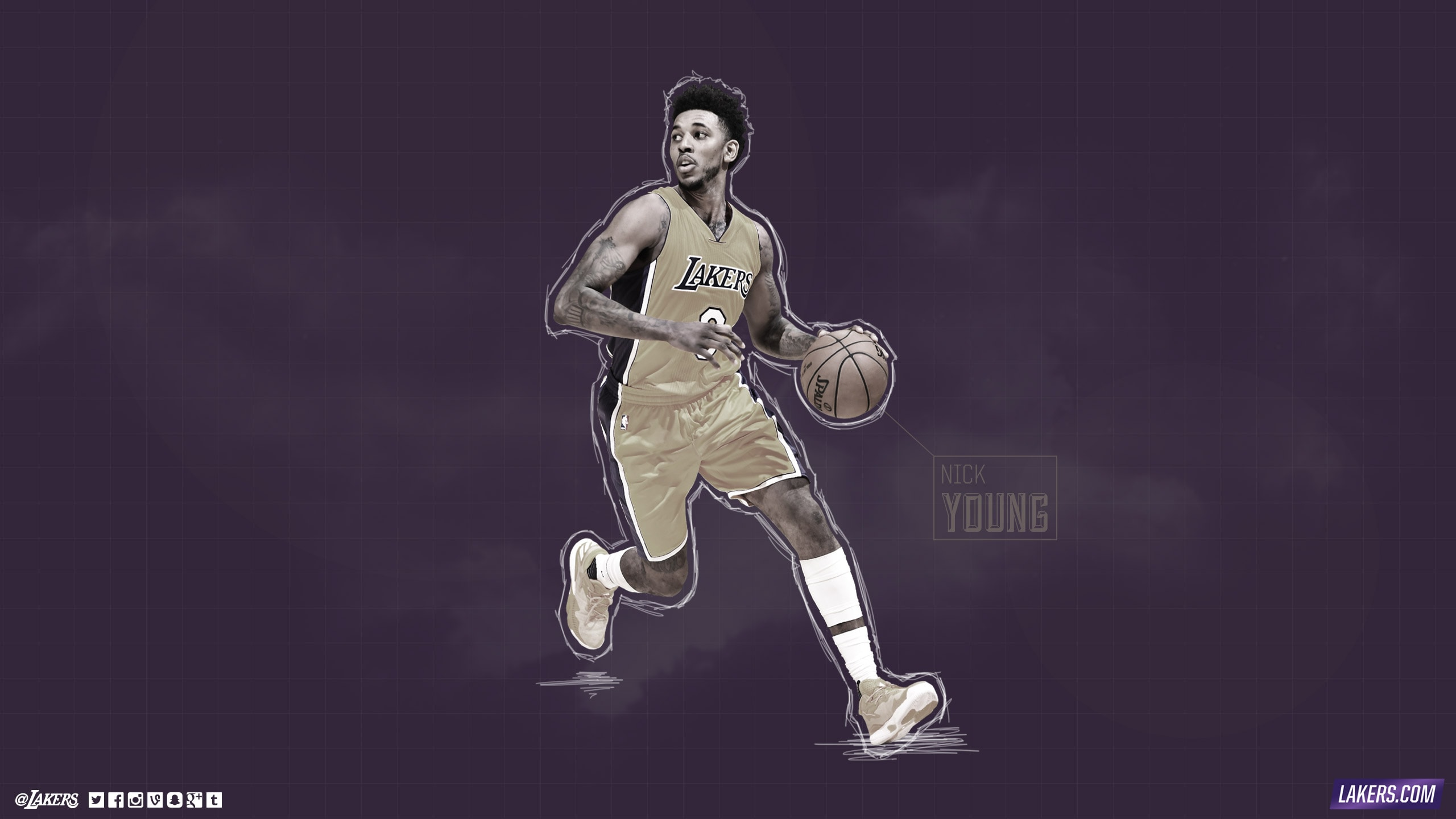 Nick Young Player Wallpaper