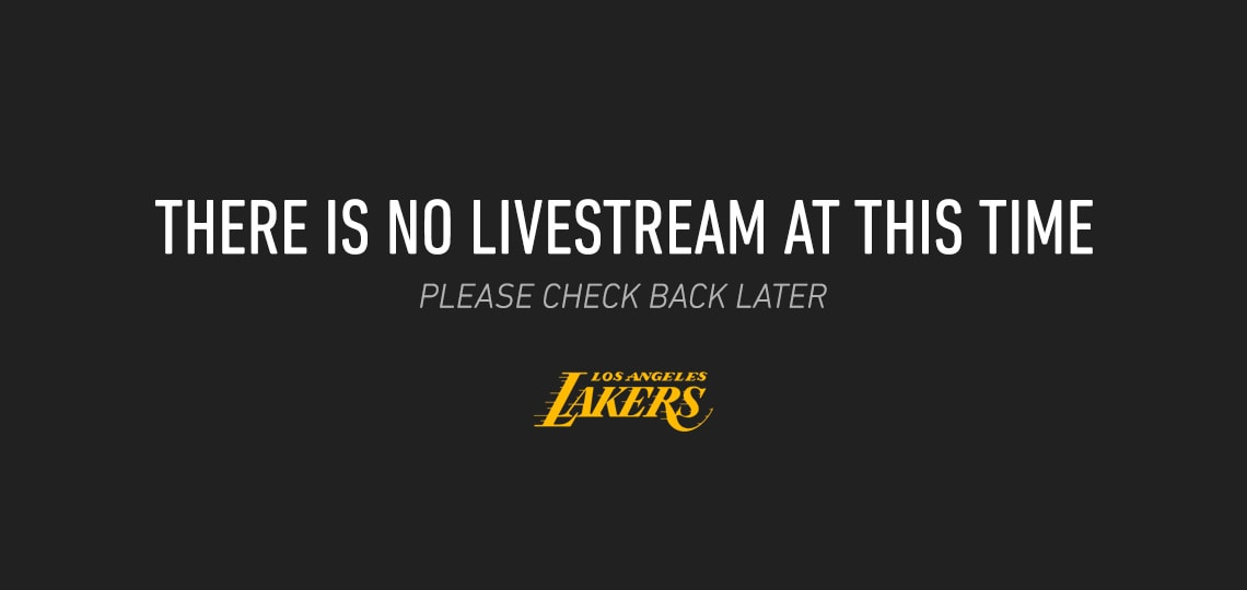 No Livestream available at this time