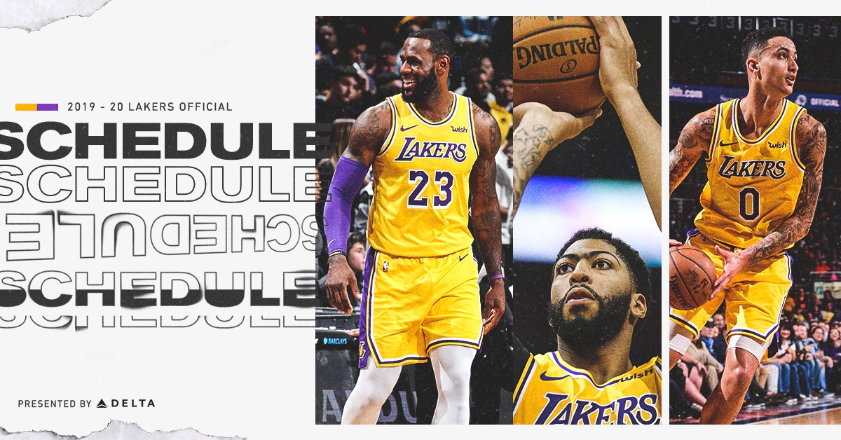 This is a photo of Transformative Lakers Schedule 2020-18 Printable