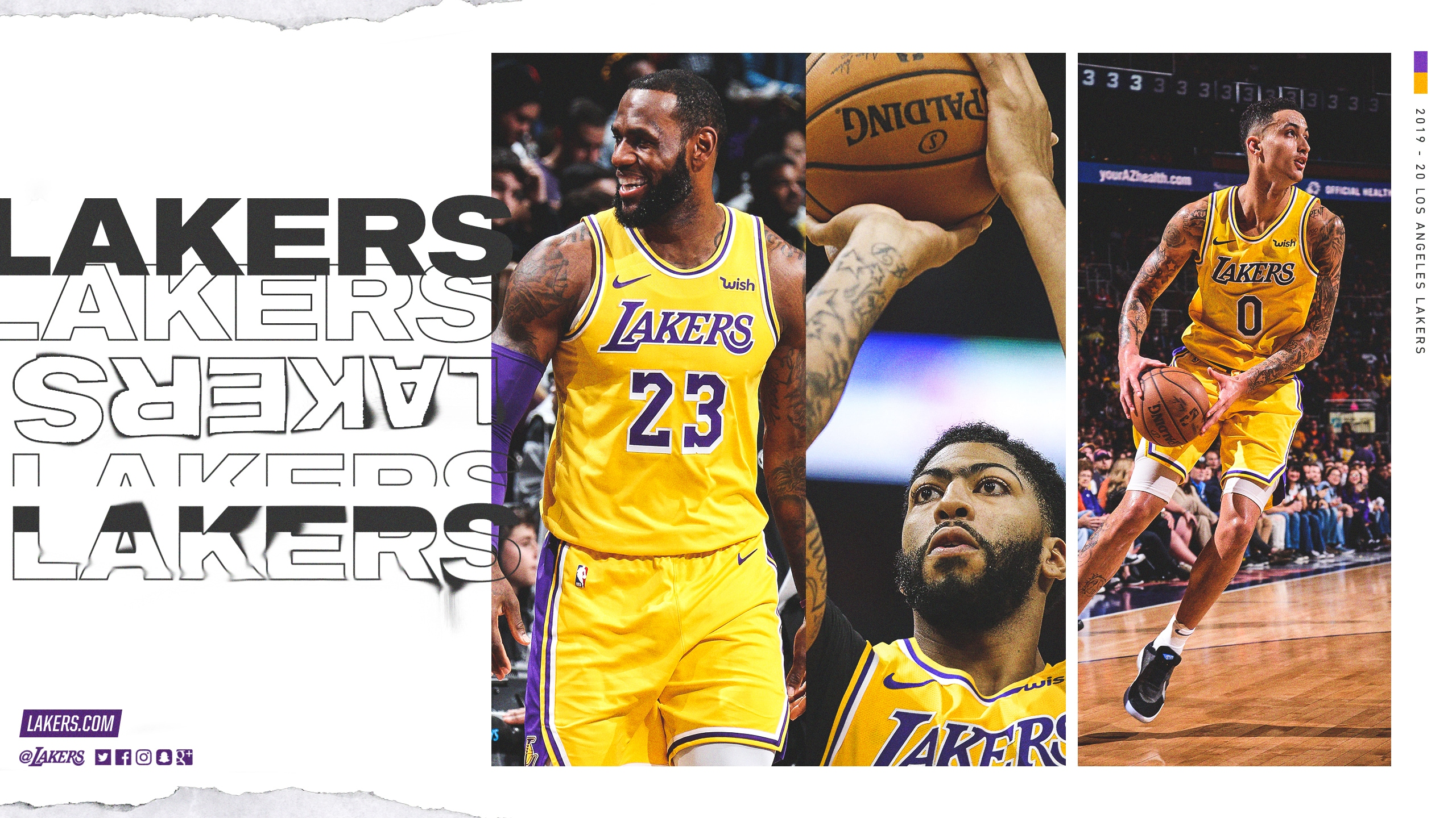 Nba Calendario 2020.Lakers Wallpapers And Infographics Los Angeles Lakers