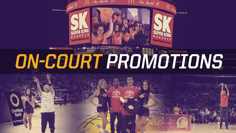 On-Court Promotions