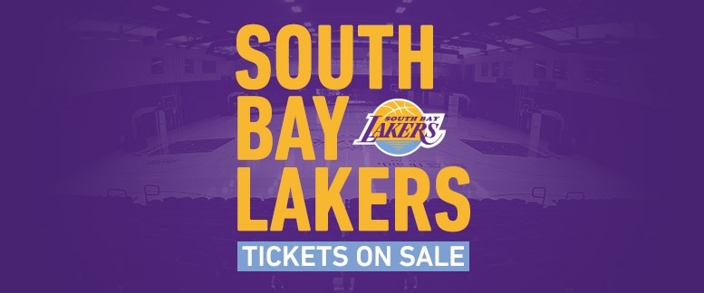 Buy South Bay Lakers Tickets