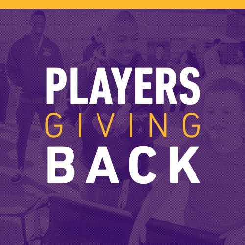 Players Giving Back
