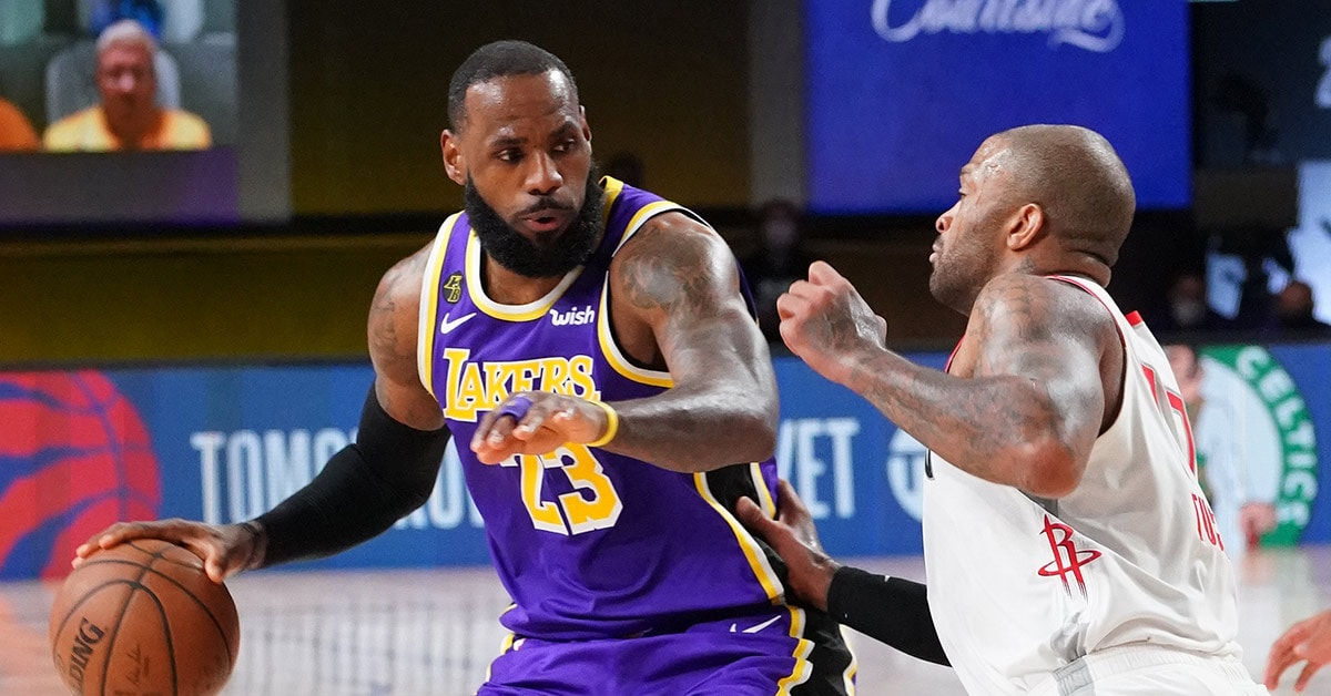 Postgame Notes: Lakers vs. Rockets Game 1 (9/04/20)   Los ...