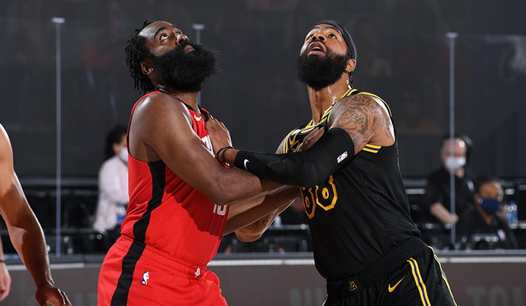 Lakers Battle To Take Game 2 From Houston Los Angeles Lakers