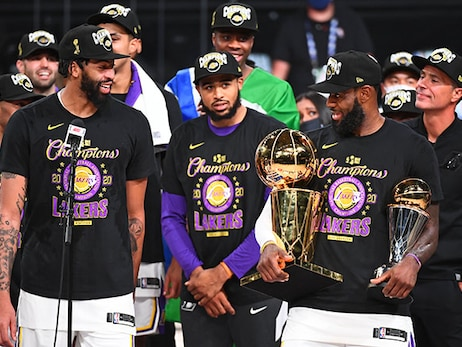 Star power, defense lift Lakers to title-clinching Game 6 victory