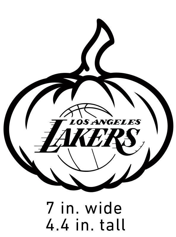 Carve Your Jackolakers Los Angeles Lakers