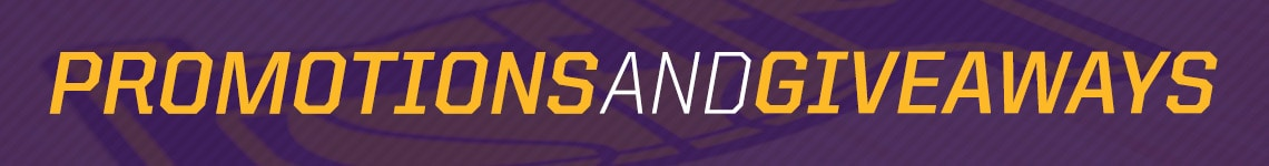 Lakers Promotions and Giveaways