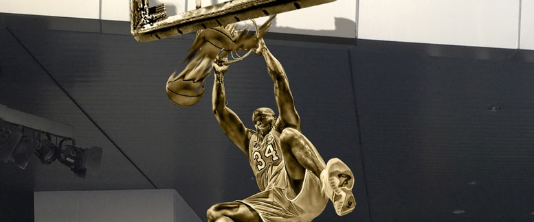 Lakers To Unveil Shaq Statue on March 24