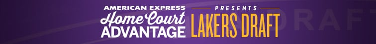 American Express Home Court Advantage presents Lakers Draft
