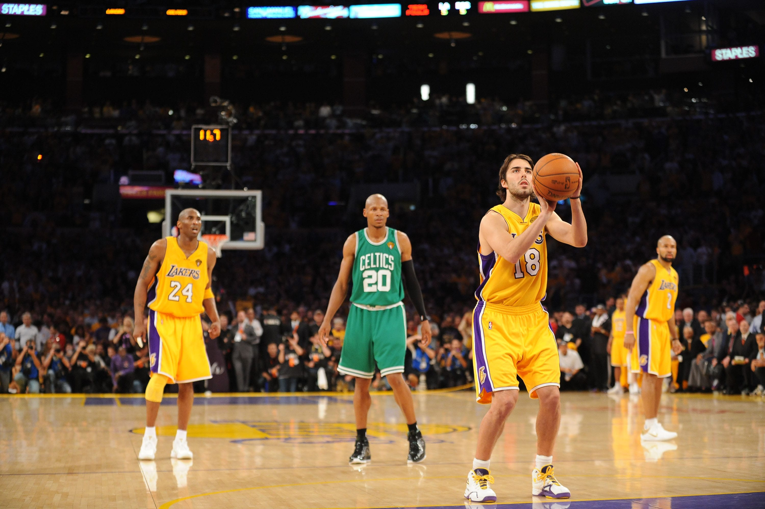 Photos Lakers Celtics 2010 Finals Game 7 Los Angeles Lakers