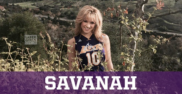 Laker Girls Livin' - Savanah