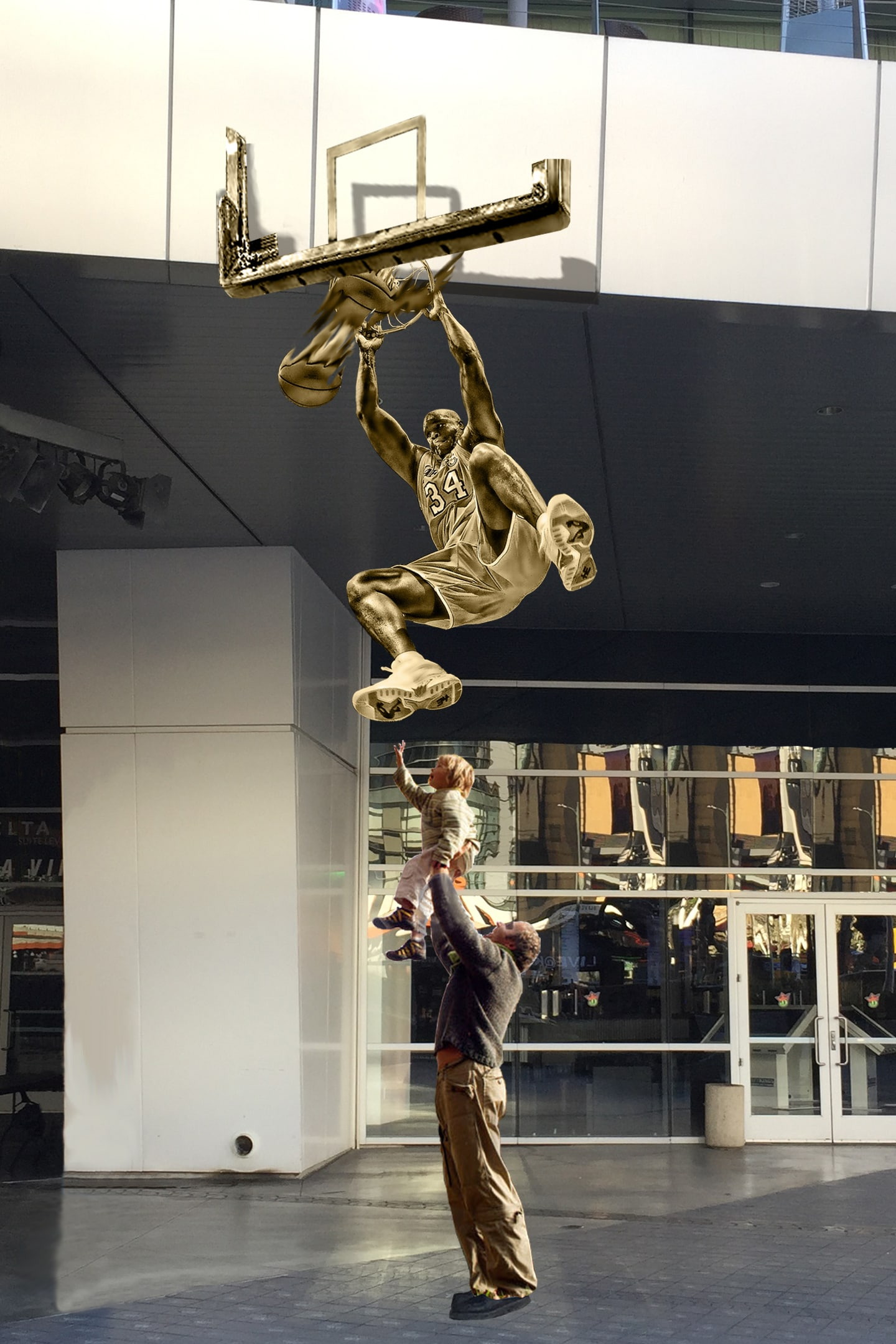 Shaquille O'Neal Statue to be Unveiled At STAPLES Center ... |Shaquille Oneal Statue