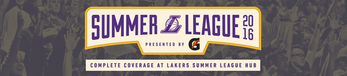 2016 Lakers Summer League Hub