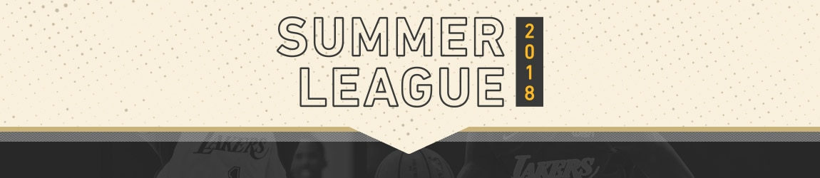 Lakers Summer League 2018