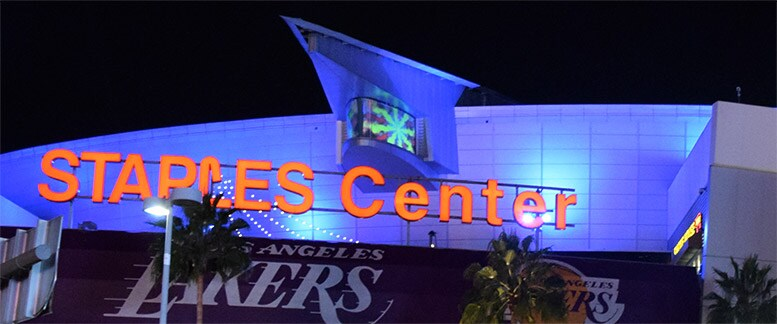 Premier Tables and Lounges at STAPLES Center
