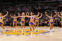 Laker GIrls In Game Gallery