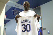 Julius Randle's Dodgers uniform