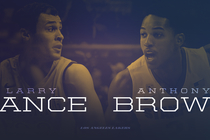 Larry Nance y Anthony Brown