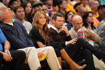 LAKERS: Celebrity Gallery - November 2010