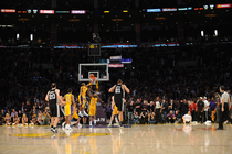 LAKERS: 2/3/11 Lakers vs Spurs Photo Gallery