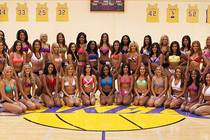 2013 Laker Girl Auditions - Finalist - 1