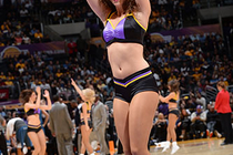 2013-14 Laker Girls Ingame - Shelbie K. - 1