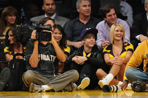LAKERS: Celebrity Gallery - Opening Night