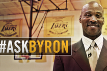 #AskByron the new head coach for the Los Angeles Lakers