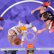 Lakers vs. Trail Blazers (1/11/15)