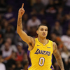 Kuzma Reacts to First Team All-Rookie Selection