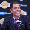 Pelinka Weighs in on Lakers' Lottery Jump
