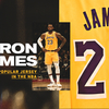 LeBron's Jersey Most Popular in NBA; Lakers Top Team Merchandise List