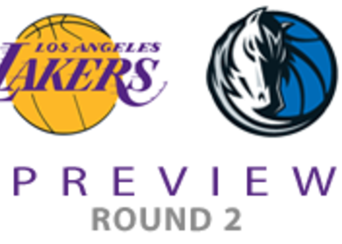 Lakers Mavericks Playoff Preview Los Angeles Lakers