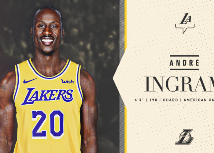 Lakers Sign Andre Ingram | Los Angeles Lakers