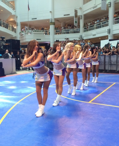 Laker Girls Represent in the Philippines