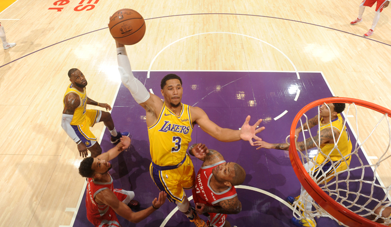 Tempers Flare as Lakers Drop Close One Against Rockets