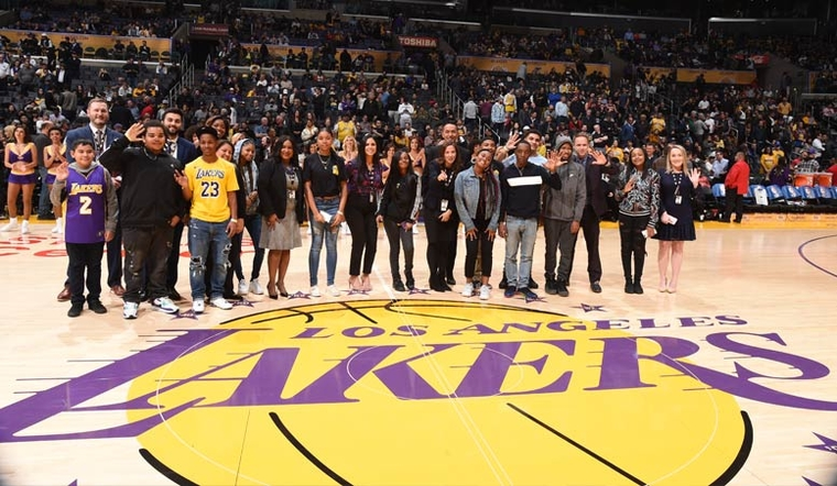 'Adopt A Laker' Mentoring Program Begins for Crenshaw High Students